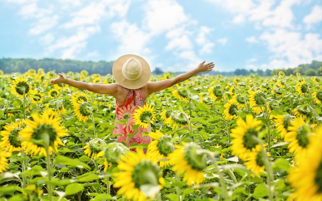 Die Freude, die Freunde und eine positive Sicht auf das Leben